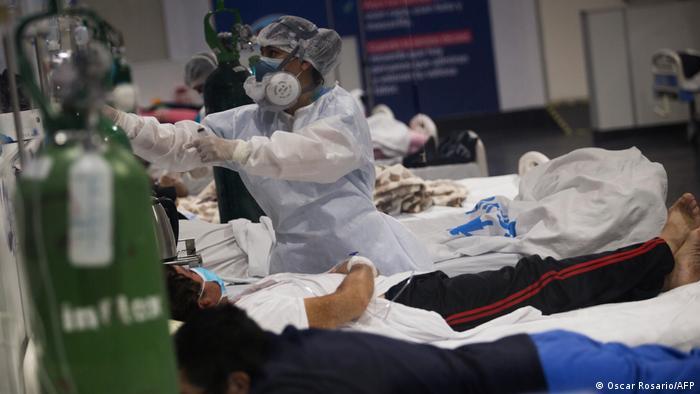 Siete Médicos De Perú Vacunados Contraen Covid 19 Las Noticias Y Análisis Más Importantes En América Latina Dw 04 04 2021