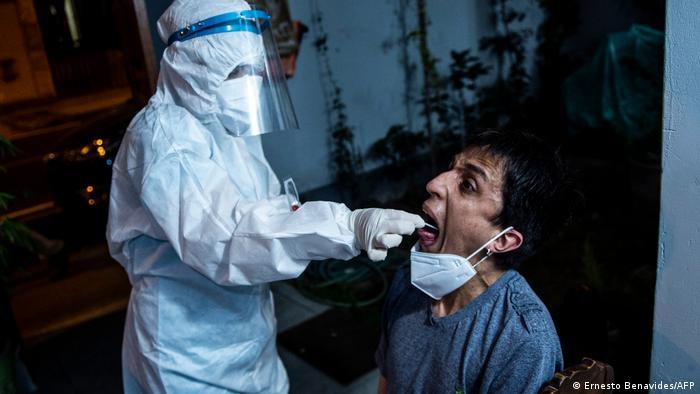 Coronavirus: un paciente es testeado en Perú.