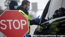 Portugal | Coronavirus | Grenzkontrollen