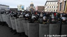 Протести в Санкт-Петербурзі