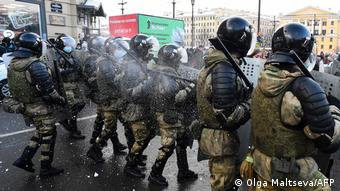 Силовики в Санкт-Петербурге