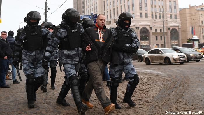 Russland Proteste Nawalny | Moskau