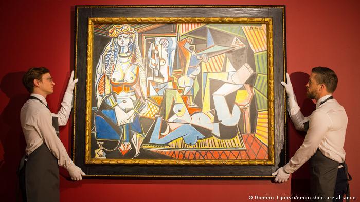 Kunstmarkt Pablo Picasso Les femmes d'Alger version O