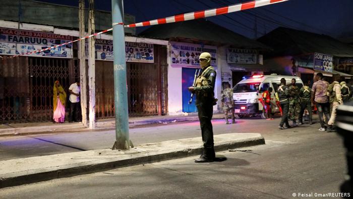 Somalia Anschlag auf Hotel Afrik in Mogadischu