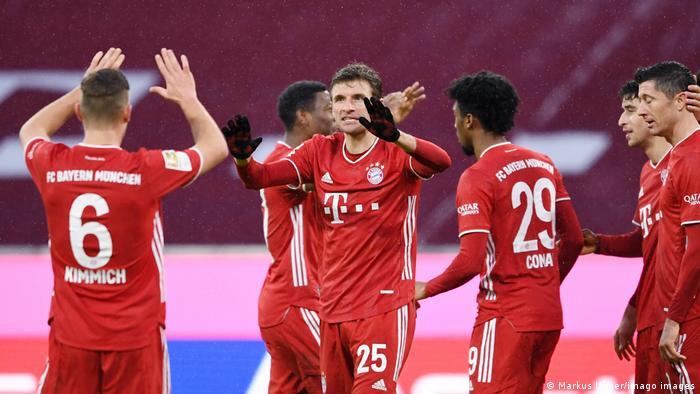 Deutschland Bundesliga FC Bayern München - TSG 1899 Hoffenheim | Jubel