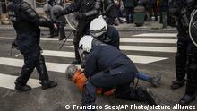 Belgien Corona-Pandemie /Protest gegen Maßnahmen