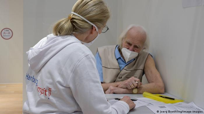 Coronavirus: Impfzentrum Hamburg