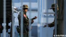 Myanmar Yangon Soldaten