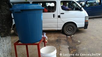 Mosambik Inhambane Covid-19