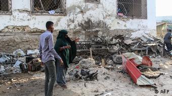 Somalia Nach dem Anschlag auf Hotel Afrik in Mogadischu