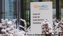 Deutschland CureVac Zentrale in Tuebingen