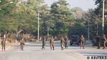 Myanmar Militärputsch |Militär in Naypyitaw