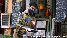 Italien Coronavirus Lockerungen Wiedereröffnung Museen Gastronomie
