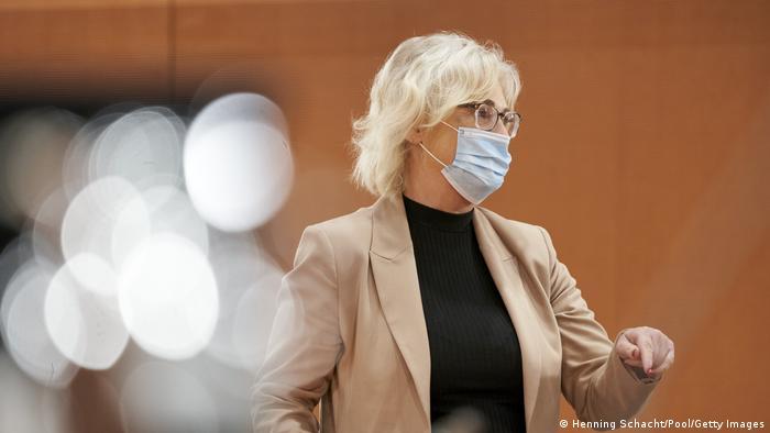 Deutschland Justizministerin Christine Lambrecht