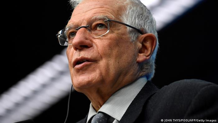 Hoher Vertreter der EU für Außen- und Sicherheitspolitik Josep Borrel