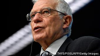 Жозеп Боррель, верховный представитель Союза по иностранным делам и политике безопасности