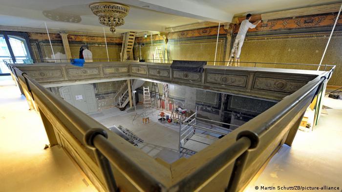 Музей во время ремонта и подготовки к открытию в 2009 году
