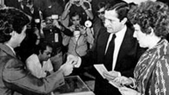 Freie Wahlen in Spanien