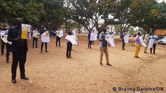 Guinea Bissau Proteste gegen Sauerstoff-Mangel in Kliniken