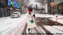 USA | Winterwetter in New York