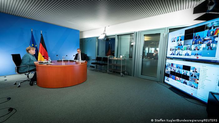 Merkel održava redovne video-konferencije sa predsjednicima pokrajinskih vlada