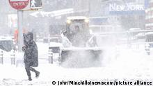 USA   Winterwetter in New York