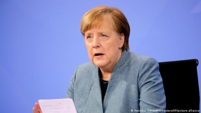 Merkel PK nach Impfgipfel im Bundeskanzleramt