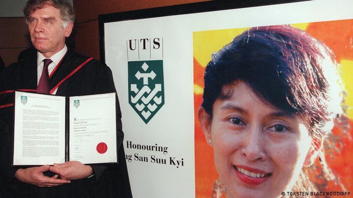 Suami Aung San Suu Kyi, Michael Aris Ehemann