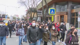 Κινητοποιήσεις φοιτητών στο Πανεπιστήμιο Bogazici της Κων/πολη