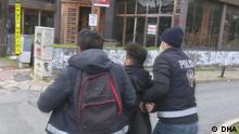 Proteste an der Bogazici Universität in İstanbul, einige Stundeten wurden festgenommen.