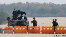 Myanmar Naypyitaw | Militär Checkpoint