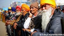 Indien Bauernproteste bei Neu Delhi
