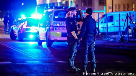 The incident occurred in the southern Swedish city of Helsingborg