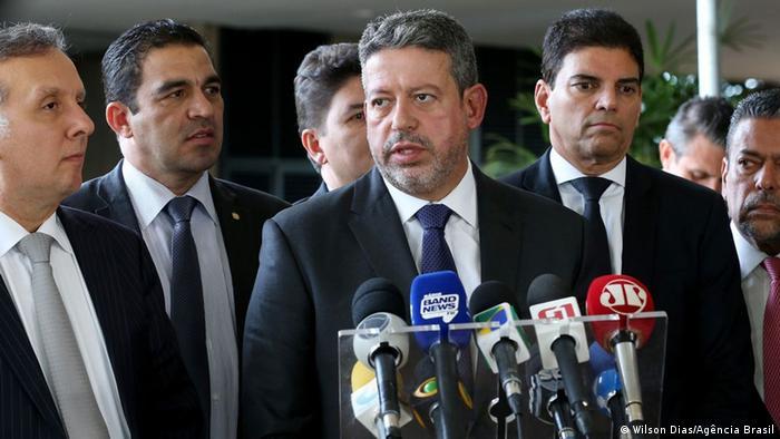 Brasilien Brasilia Abgeordneter Arthur Lira
