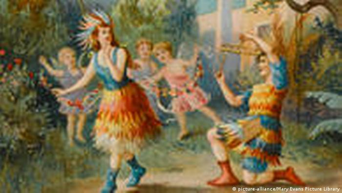 Papageno und Papagena (picture-alliance/Mary Evans Picture Library)