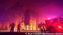 Australien   Waldbrand bei Perth