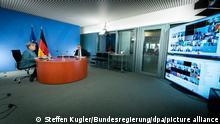 Deutschland Impfgipfel im Bundeskanzleramt
