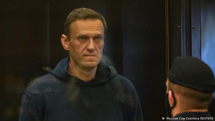 Navalni duruşma salonunda