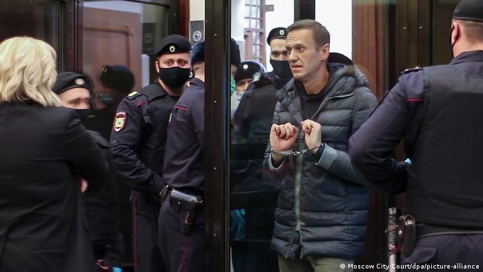 Russland Gerichtsverhandlung Nawalny