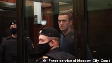 Russland Alexej Nawalny Russland Gericht