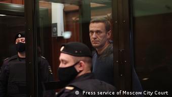 Навальный в суде, 2 февраля 2021