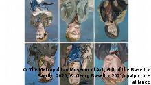 BdT Deutschland Kombobild Porträtbilder von Georg Baselitz