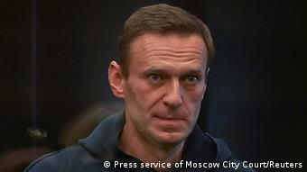Russland Alexej Nawalny vor Gericht in Moskau