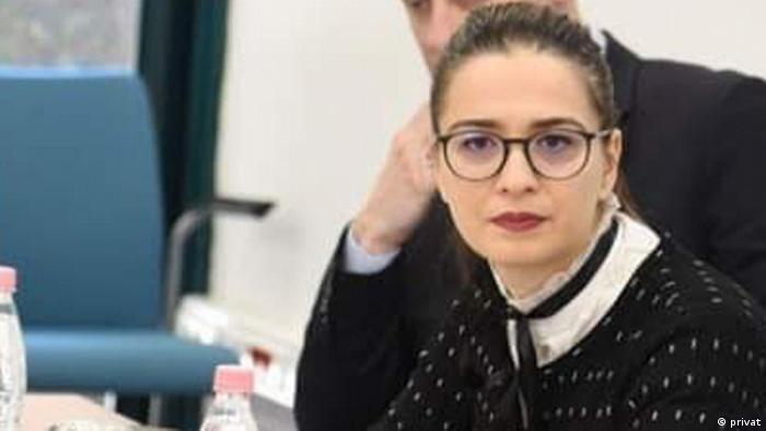Albanien Finanzexpertin Edlira Dashi Tirana