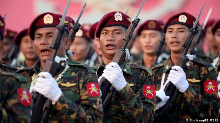 Myanmar′s military: A state within a state | Asia | An in-depth look at  news from across the continent | DW | 12.02.2021