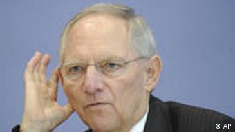 Finanzminister Schäuble (Foto: AP)
