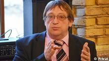 Alexander Feduta, Publizist und Politikberater aus Minsk.