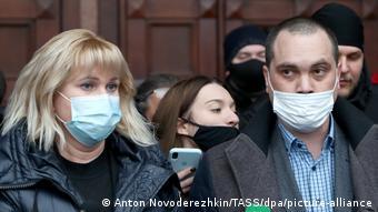 Адвокаты Алексея Навального: Ольга Михайлова и Вадим Кобзев