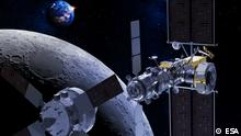ESA Orion Modul Mond