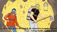 "Graphic Novel ""Tunnel"" von Rutu Modan."